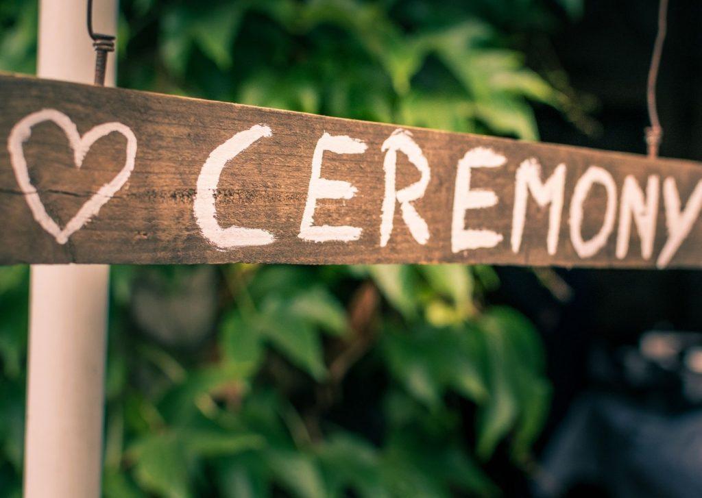 Foto tipo de ceremonias